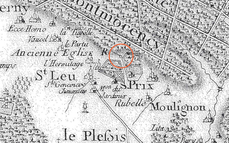 Saint-Leu carte cassini